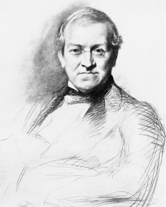 Sir Charles Wheatstone, English physicist, c 1820s.