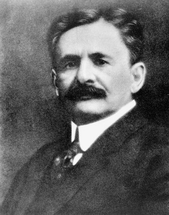 Albert Abraham Michelson, American physicist, c 1910.