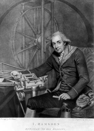 Jese Ramsden, English instrument maker, c 1791.