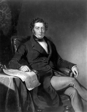 Robert Stephenson, English mechanical and structural engineer, 1846.