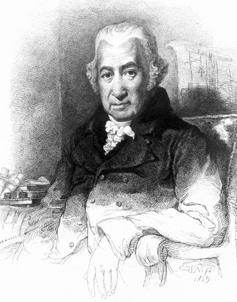 James Watt, Scottish engineer, early 19th century.