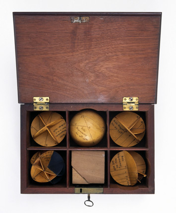 Mathematical models, early to mid 18th century.