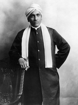Sir Chandrasekhara Venkata Raman, Indian physicist, c 1910-1920.