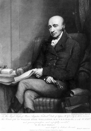William Hyde Wollaston, English chemist and metallurgist, c 1810s.