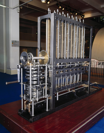 Babbage's Difference Engine No 2, 1991.