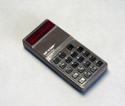Sinclair Cambridge pocket calculator, 1973.