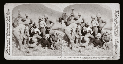 'New Year's Day at Colesberg, South Africa', 1900.