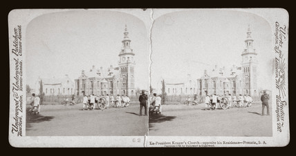 'Ex President Kruger's church - Pretoria, South Africa', 1901.