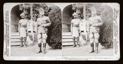 'Lord Roberts, Commander of the British Armies, Pretoria, South Africa', 1900.