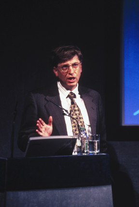 Bill Gates, American founder of Microsoft, 1996.