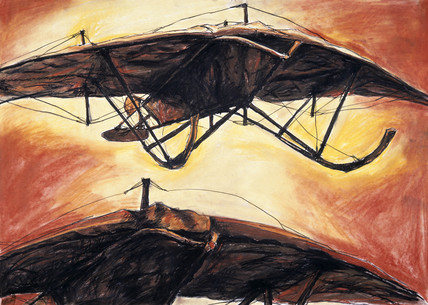 Keith and Weiss ornithopter, 1908-1912.