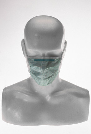 Pharmaceutical worker's mask, 1982.