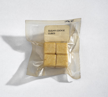 Sugar cookie cubes, 1964-1966.