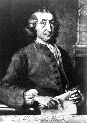 Thomas Wright, English astronomer and architect, 18 April 1737.