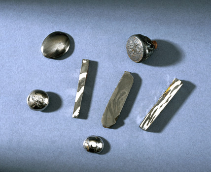 Experimental steel alloys, 1820-1824.