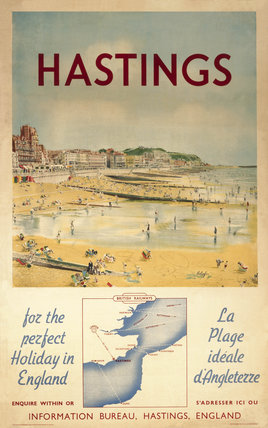 'Hastings - for the perfect Holiday in Engl
