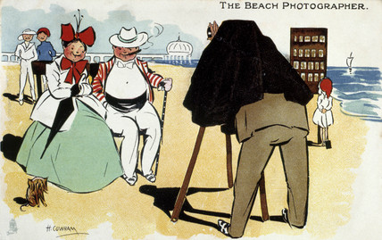'The Beach Photographer', 1922.