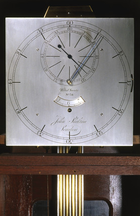 Dial from Shelton's sidereal clock, 1768-9.