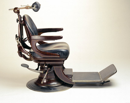 Diamond No 2 dental chair, 1925-1935.