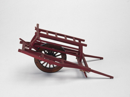 Chinese wheelbarrow.