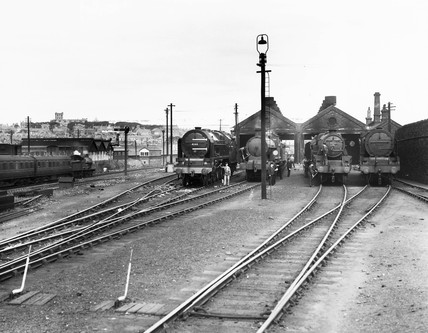 Holyhead Motive Power Depot, 1935.