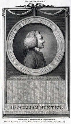 William Hunter, British anatomist and obstetrician, 1783.