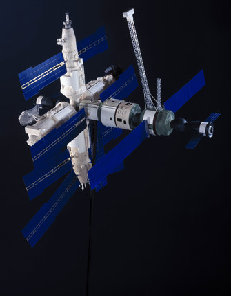 Mir space station, 1997