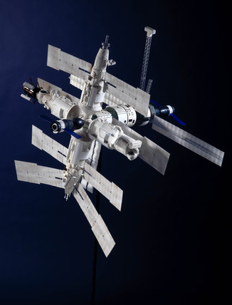 Mir space station, 1997.