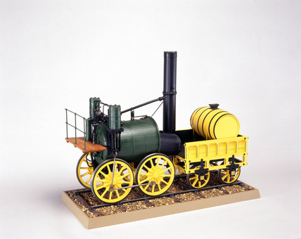 'Sans Pareil' locomotive, 1829. The locomot