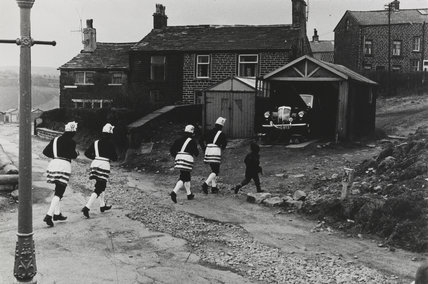Bacup coconut dancers, 1968.