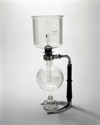Cona coffee maker, c 1950.