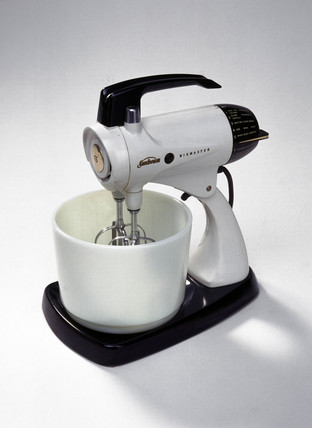 Sunbeam 'Mixmaster' food mixer, c 1953.