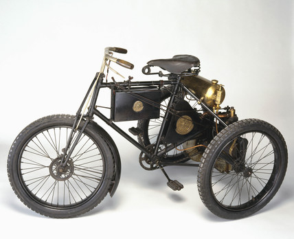 De Dion Bouton motor tricycle, 1898.