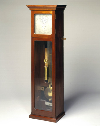 Shelton regulator clock, 1768-1769.