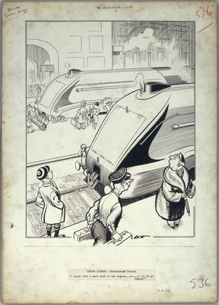 'London Laughs - Streamlined Trains', 1936.