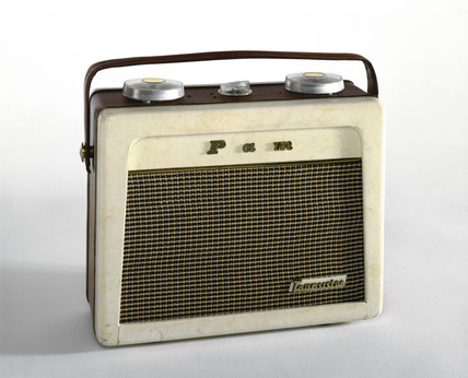 Pam 710 portable radio receiver, 1956.