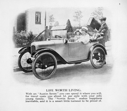 'Life Worth Living', c 1922.