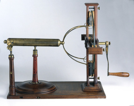 Plate electrical machine, 1770.