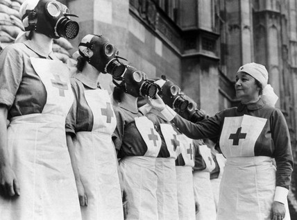 Nurses from the House of Lords Red Cross