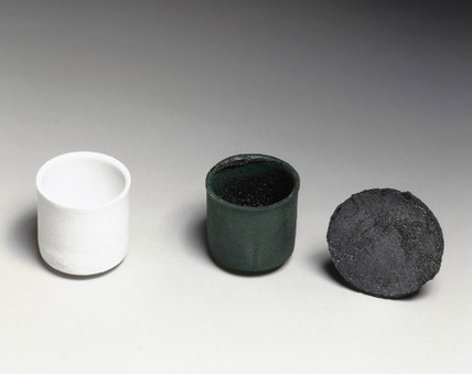 Superconductor crucibles, 1990s.