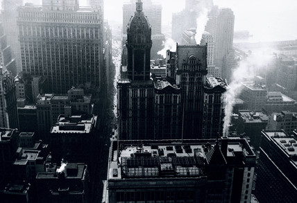 Aerial view of New York, USA, c 1920s.