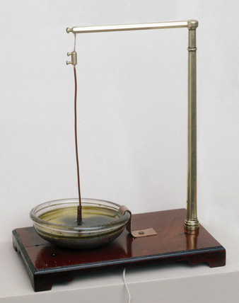 Faraday's electro-magnetic rotation apparat