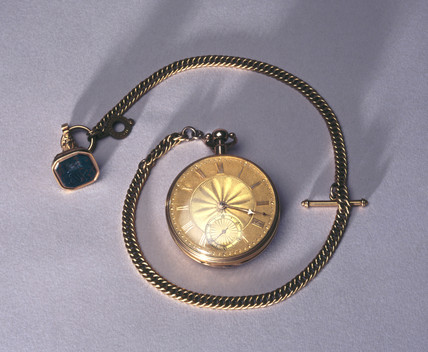 Pocket watch, British, 1801-11.