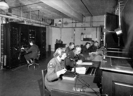 Radar station at 'Chain Home', England, 1940-1945.
