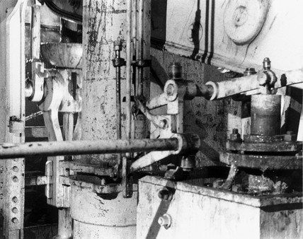 Railway tunnel pump mechanism, Severn Tunnel, 1958.
