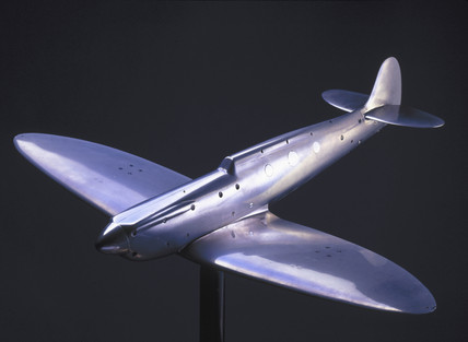 Wind tunnel model of Spitfire Mark I, 1941.