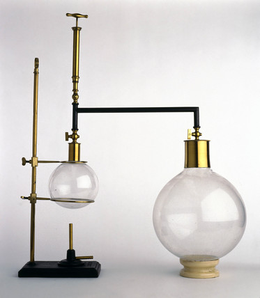 Tyndall's boiling point apparatus, 1880.