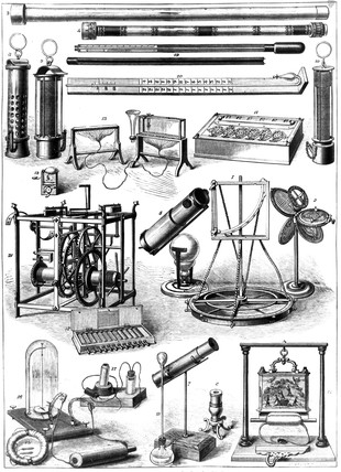 Historic scientific treasures of the South Kensington Museum, London, 1876.
