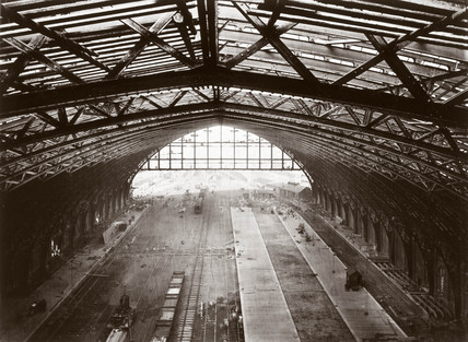 St Pancras station roof, London, 1868.