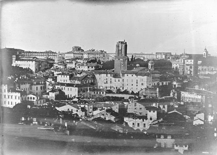 'Rome, Panorama from the Capitol Tower', June 1841.